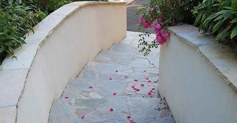Allée & escaliers